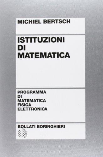 9788833955278: Istituzioni di matematica
