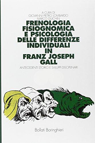 Frenologia, fisiognomica e psicologia delle differenze individuali: Lombardo, Giovanni P.;