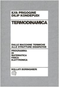 9788833956923: Termodinamica. Dai motori termici alle strutture dissipative