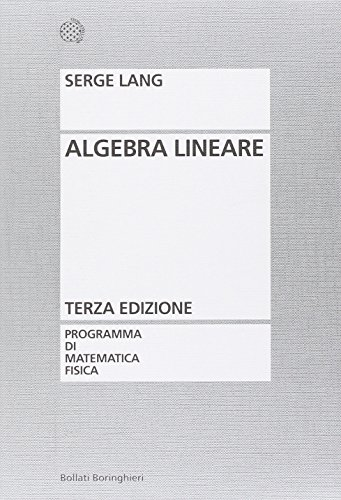 9788833958699: Algebra lineare