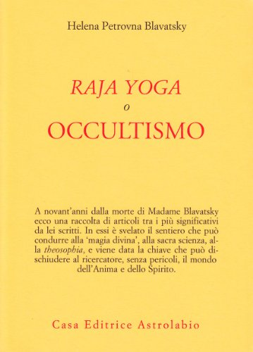 Raja yoga, o occultismo (9788834006917) by [???]
