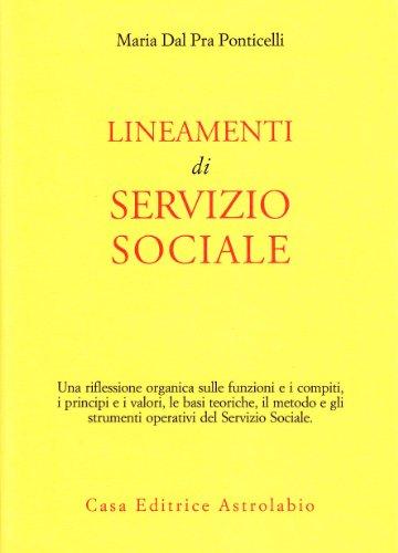 9788834008775: Lineamenti di servizio sociale