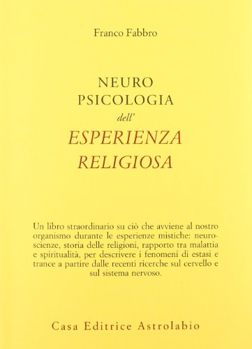 9788834015759: Neuropsicologia dell'esperienza religiosa