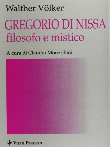 9788834305645: Gregorio di Nissa filosofo e mistico