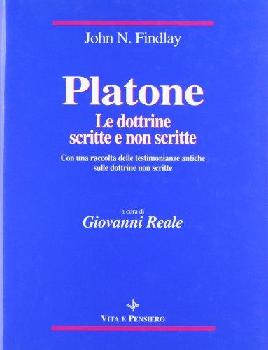 9788834308103: Platone: le dottrine scritte e non scritte. Con una raccolta delle testimonianze antiche sulle dottrine non scritte