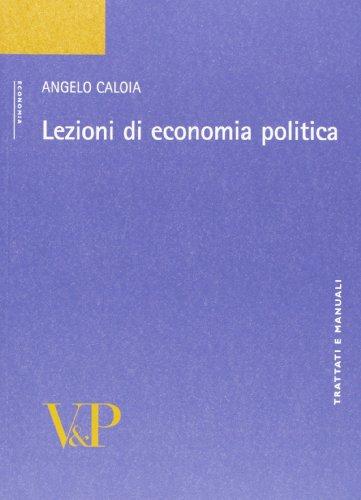 9788834317143: Lezioni di economia politica