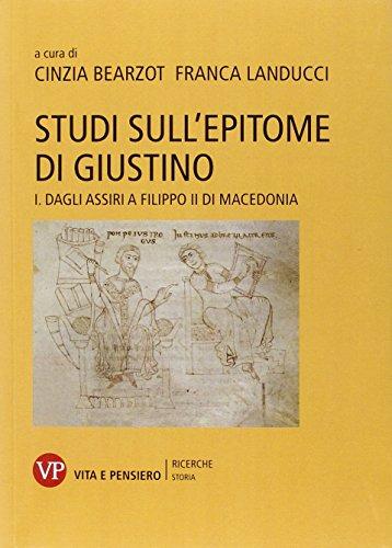 9788834328804: Studi sull'epitome di Giustino