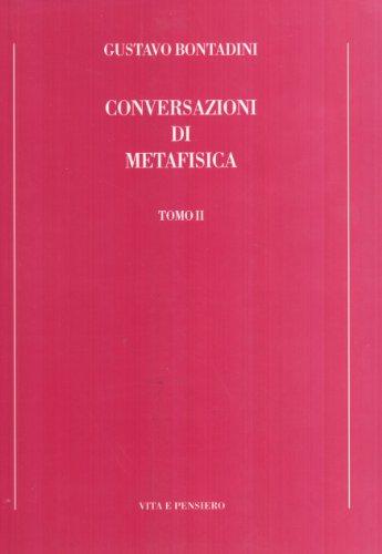 9788834336731: Conversazioni di metafisica