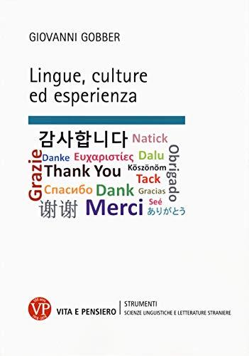 9788834337509: Lingue, culture ed esperienza