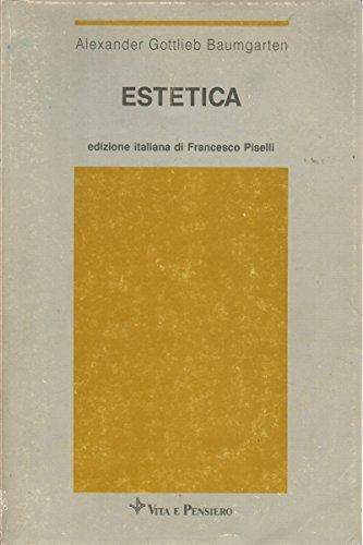 9788834365663: Estetica (Universitaria/Testi)