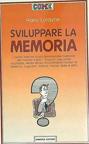 9788834404195: Sviluppare la memoria
