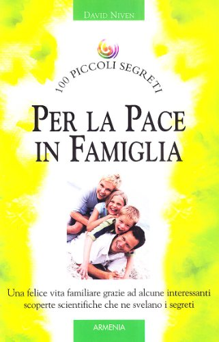 Per la pace in famiglia - Niven David