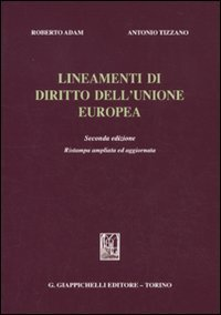 9788834814857: Lineamenti di diritto dell'Unione Europea