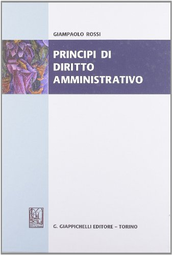 9788834815144: Principi di diritto amministrativo