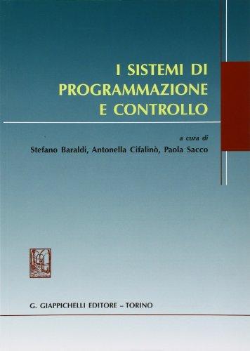 9788834819579: I sistemi di programmazione e controllo