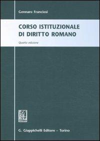 9788834819791: Corso istituzionale di diritto romano