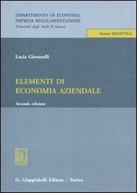 9788834826003: Elementi di economia aziendale