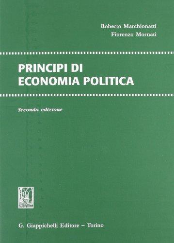 9788834829677: Principi di economia politica