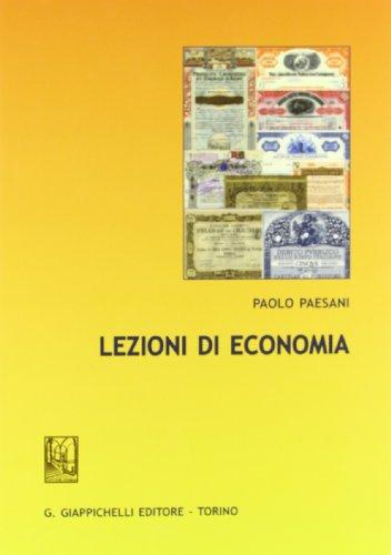 9788834829813: Lezioni di economia