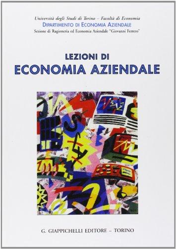 9788834835425: Lezioni di economia aziendale