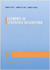 9788834844366: Elementi di statistica descrittiva