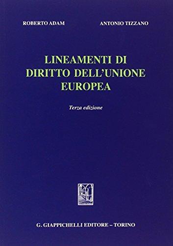 9788834849484: Lineamenti di diritto dell'Unione Europea
