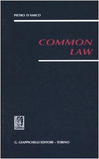 9788834854709: Common law