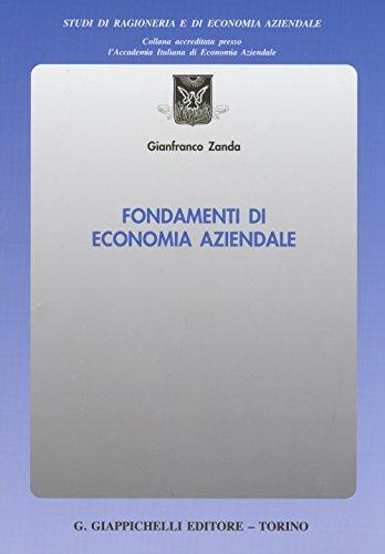 Fondamenti di economia aziendale: Gianfranco Zanda