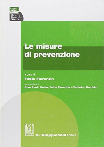 9788834866313: Le misure della prevenzione