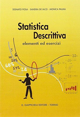 9788834875704: Statistica descrittiva. Elementi ed esercizi