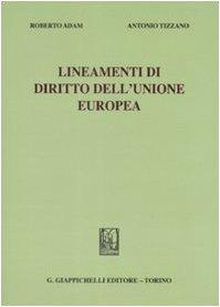 9788834876602: Lineamenti di diritto dell'Unione Europea