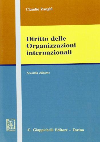 9788834877142: Diritto delle organizzazioni internazionali