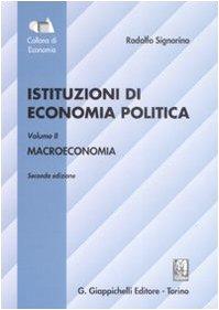 9788834883051: Istituzioni di economia politica. Macroeconomia (Vol. 2)