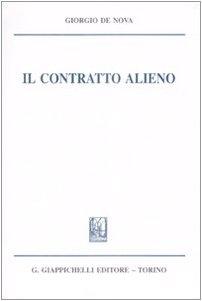9788834883594: Il contratto alieno
