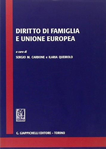 9788834884195: Diritto di famiglia e Unione europea