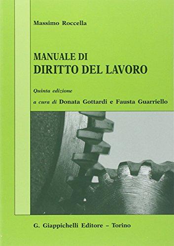 Manuale di diritto del lavoro. Mercato del: Roccella, Massimo
