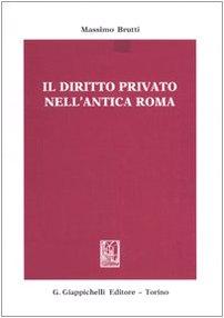 9788834896655: Il diritto privato nell'antica Roma