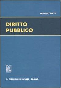 DIRITTO PUBBLICO: POLITI FABRIZIO