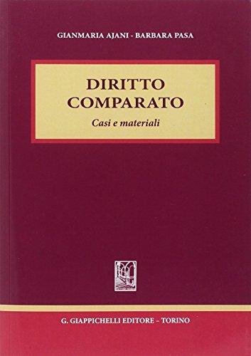 9788834899793: Diritto comparato. Casi e materiali