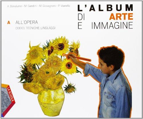 9788835026648: L'album di arte e immagine. Vol. A-B. Per la Scuola media. Con CD-ROM. Con espansione online