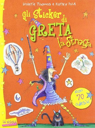 9788835030973: Gli sticker di Greta la strega