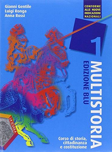 9788835036777: Multistoria. Ediz. blu. Per la Scuola media. Con DVD. Con e-book. Con espansione online: 1