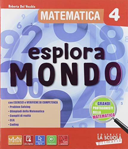 9788835050735: Esploramondo. Matematica scienze. Per la 4ª classe elementare. Con espansione online