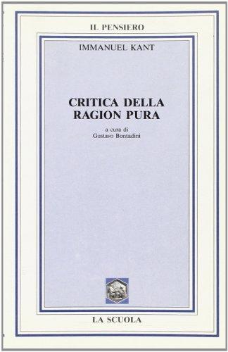 9788835088257: Critica della ragion pura. Per i Licei e gli Ist. Magistrali (Il pensiero filosofico)