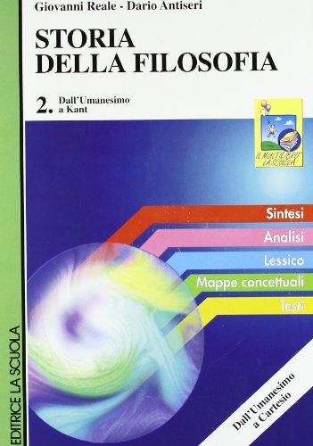 9788835092193: Storia della filosofia. Per i Licei e gli Ist. Magistrali: 2
