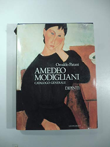 9788835501527: Amedeo Modigliani: Catalogo generale (Italian Edition)
