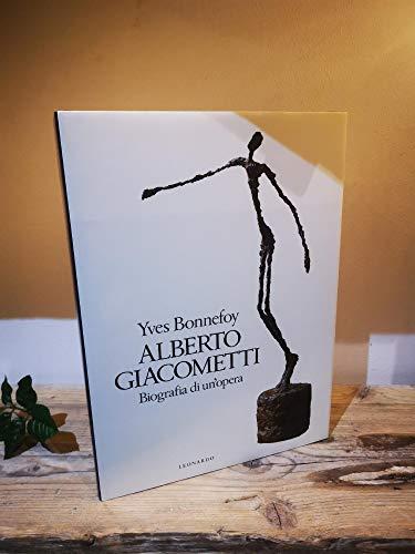 9788835501732: Alberto Giacometti (Grandi monografie)