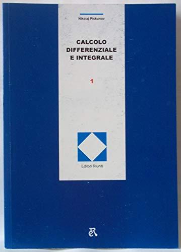 9788835907510: Calcolo differenziale e integrale