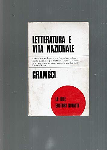 9788835911579: Letteratura e vita nazionale