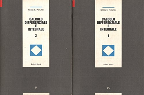 9788835934554: Calcolo differenziale e integrale (2 volumi)